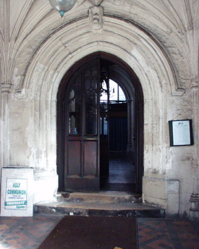 St. Sepulchre main entrance