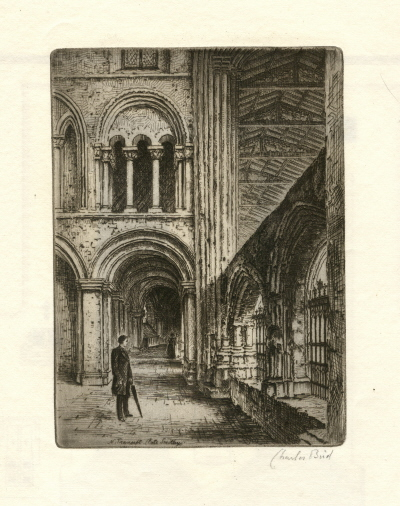 North transept, by Charles Bird